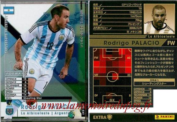 2013-14 - WCCF - N° ARS-EXT - Rodrigo PALACIO (Argentine) (Argentine Superstars) (Extra)