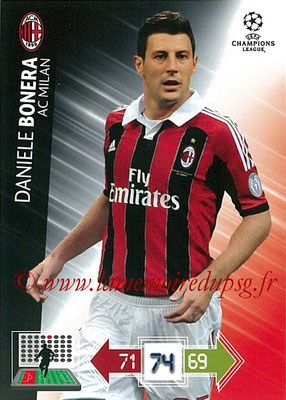2012-13 - Adrenalyn XL champions League N° 153 - Daniele BONERA (Milan AC)