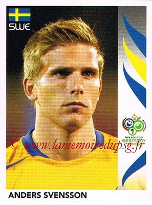 2006 - Panini FIFA World Cup Germany Stickers - N° 162 - Anders SVENSSON (Suède)