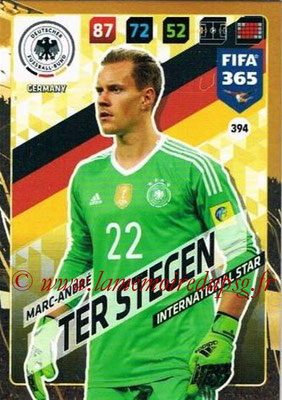 2017-18 - Panini FIFA 365 Cards - N° 394 - Marc-André TER STEGEN (Allemagne) (International Star)
