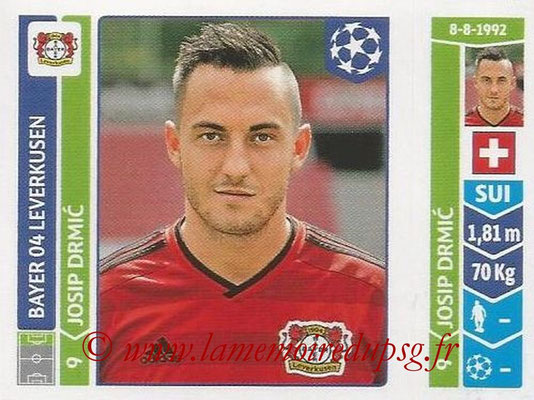 2014-15 - Panini Champions League N° 234 - Josip DRMIC (Bayer 04 Leverkusen)