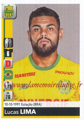 2018-19 - Panini Ligue 1 Stickers - N° 281 - Lucas LIMA (Nantes)