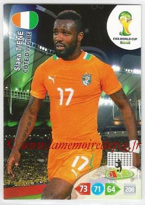2014 - Panini FIFA World Cup Brazil Adrenalyn XL - N° 097 - Siaka TIENE (Côte d'Ivoire)