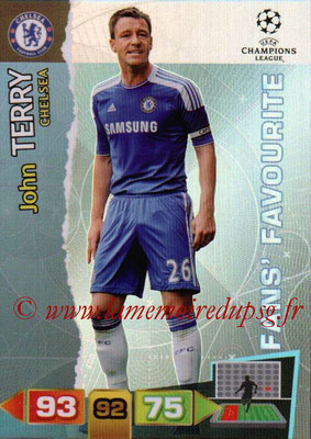 2011-12 - Panini Champions League Cards - N° 304 - John TERRY (Chelsea FC) (Fans' Favourite)