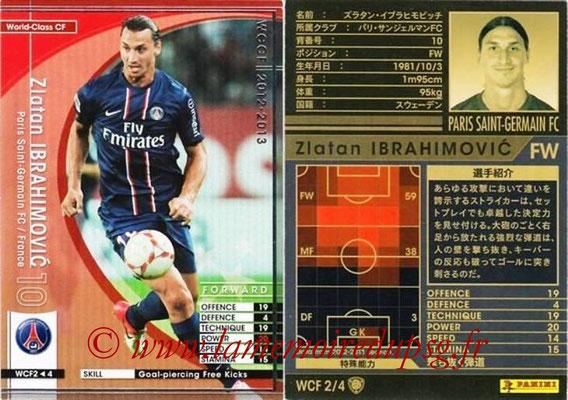N° WCF2 - Zlatan IBRAHIMOVIC (World class CF)