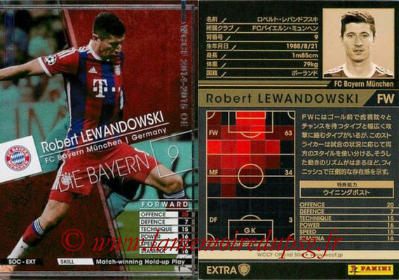 2014-15 - WCCF - N° SOC-EXT08 - Robert LEWANDOSWKI (FC Bayern Munich) (Stars of The Club) (Extra)