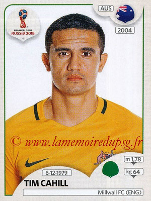 2018 - Panini FIFA World Cup Russia Stickers - N° 228 - Tim CAHILL (Australie)