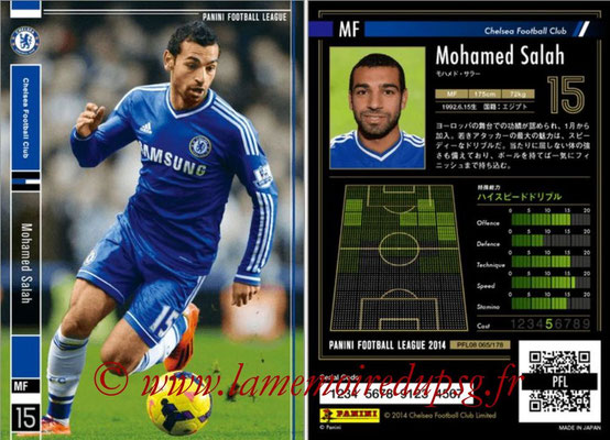 Panini Football League 2014 - PFL08 - N° 065 - Mohamed SALAH (Chelsea FC)