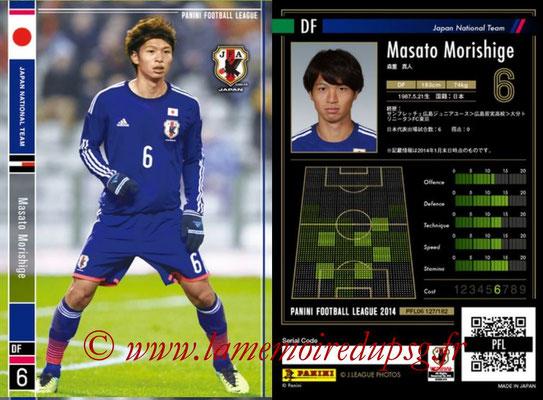 Panini Football League 2014 - PFL06 - N° 127 - Masato MORISHIGE (Japon)