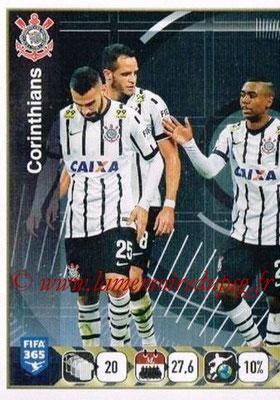 2015-16 - Panini FIFA 365 Stickers - N° 177 - Equipe SC Corinthians 1