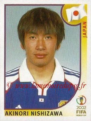 2002 - Panini FIFA World Cup Stickers - N° 545 - Akinori NISHIZAWA (Japon)