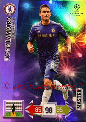 2012-13 - Adrenalyn XL champions League N° 333 - Frank LAMPARD (Chelsea FC) (Master)
