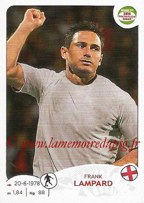 2014 - Panini Road to FIFA World Cup Brazil Stickers - N° 119 - Frank LAMPARD (Angleterre)