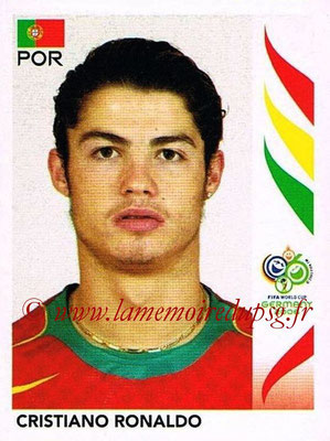 2006 - Panini FIFA World Cup Germany Stickers - N° 298 - Cristiano RONALDO (Portugal)