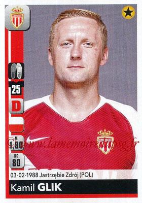 2018-19 - Panini Ligue 1 Stickers - N° 230 - Kamil GLIK (Monaco)