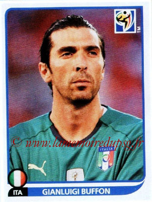 2010 - Panini FIFA World Cup South Africa Stickers - N° 412 - Gianluigi BUFFON (Italie)