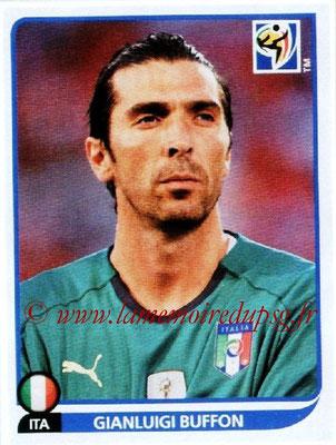 2010 - Panini FIFA World Cup South Africa Stickers - N° 412 - Gianluigi BUFFON (Italie)