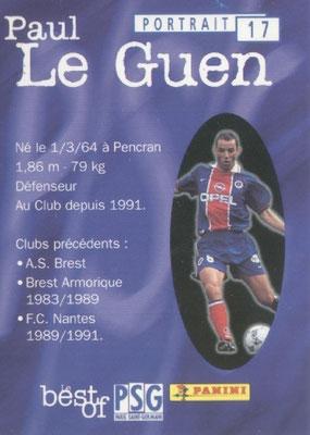 N° 017 - Paul LE GUEN (Verso)