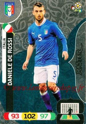 Panini Euro 2012 Cards Adrenalyn XL - N° 290 - Daniele DE ROSSI (Italie) (Master)