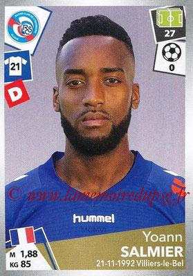 2017-18 - Panini Ligue 1 Stickers - N° 448 - Yoann SALMIER (Strasbourg)