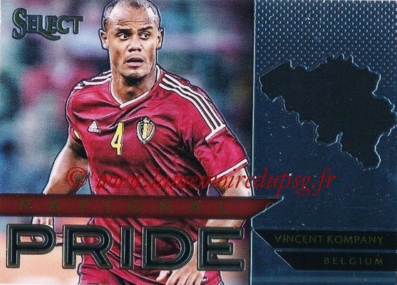 2015 - Panini Select Soccer - N° NP04 - Vincent KOMPANY (Belgique) (National Pride)
