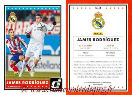 2015 - Panini Donruss Soccer - N° 003 - James RODRIGUEZ (Real Madrid CF)