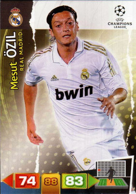 2011-12 - Panini Champions League Cards - N° 234 - Mesut ÖSIL (Real Madrid CF)