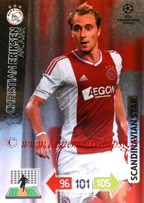 2012-13 - Adrenalyn XL champions League N° 356 - Christian ERIKSEN (AFC Ajax) (Scandinavian Star)