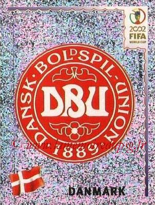 2002 - Panini FIFA World Cup Stickers - N° 080 - Logo Danemark