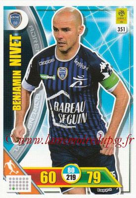 2017-18 - Panini Adrenalyn XL Ligue 1 - N° 351 - Benjamin NIVET (Troyes)