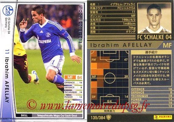 2012-13 - WCCF - N° 135 - Ibrahim AFELLAY (FC Schalke 04)