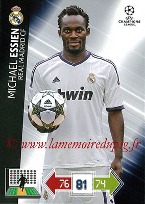 2012-13 - Adrenalyn XL champions League N° 230 - Michael ESSIEN  (Real Madrid CF)