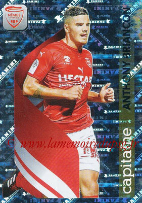 2018-19 - Panini Ligue 1 Stickers - N° 347 - Anthony BRIANCON (Nîmes) (Capitaine)