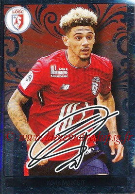 2017-18 - Panini Ligue 1 Stickers - N° 181 - Kévin MALCUIT (Lille) (Top Recrue)