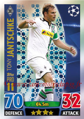 2015-16 - Topps UEFA Champions League Match Attax - N° P29 - Tony JANTSCHKE (VfL Borussia Mönchengladbach) (Pro 11)