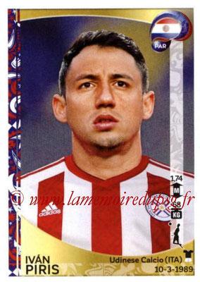 Panini Copa America Centenario USA 2016 Stickers - N° 091 - Ivan PIRIS (Paraguay)