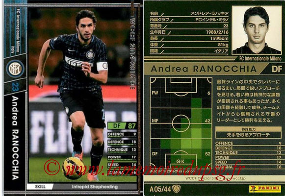 2013-14 - WCCF - N° A05 - Andrea RANOCCHIA (FC Inter Milan)