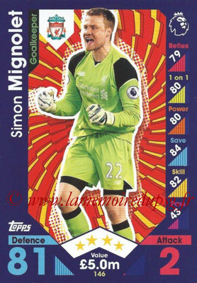 2016-17 - Topps Match Attax Premier League - N° 146