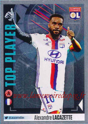 2016-17 - Panini Ligue 1 Stickers - N° 380 - Alexandre LACAZETTE (Lyon) (Top Player)