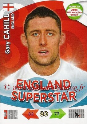 2014 - Panini Road to FIFA World Cup Brazil Adrenalyn XL - N° 064 - Gary CAHILL (Angleterre)