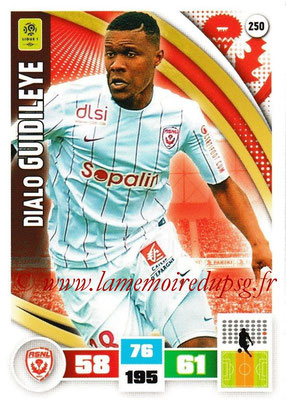 2016-17 - Panini Adrenalyn XL Ligue 1 - N° 250 - Dialo GUIDILEYE (Nancy)