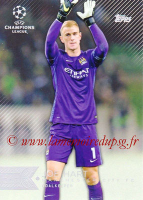 2015-16 - Topps UEFA Champions League Showcase Soccer - N° 087 - Joe HART (Manchester City FC)
