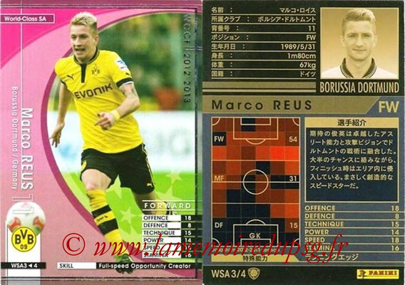 2012-13 - WCCF - N° WSA3 - Marco REUS (Borussia Dortmund) (World Class SA)