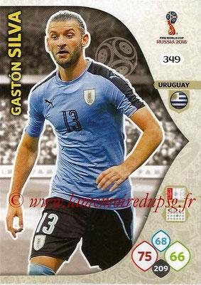 2018 - Panini FIFA World Cup Russia Adrenalyn XL - N° 349 - Gaston SILVA (Uruguay)