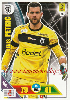2017-18 - Panini Adrenalyn XL Ligue 1 - N° 030 - Denis PETRIC (Angers)