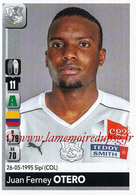 2018-19 - Panini Ligue 1 Stickers - N° 021 - Juan FERNEY OTERO (Amiens)