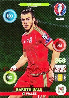 Panini Euro 2016 Cards - N° 448 - Gareth BALE (Pays de Galles) (Top Joueur)
