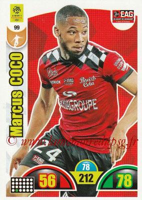 2018-19 - Panini Adrenalyn XL Ligue 1 - N° 099 - Marcus COCO (Guingamp)