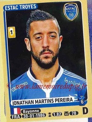 2015-16 - Panini Ligue 1 Stickers - N° 461 - Jonathan MARTINS PEREIDA (ESTAC Troyes)