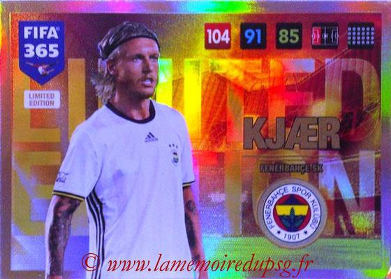 2016-17 - Panini Adrenalyn XL FIFA 365 - N° LE48 - Simon KJAER (Fenerbahçe SK) (Limited Edition)